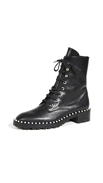 Stuart Weitzman Allie 沟纹鞋底靴子