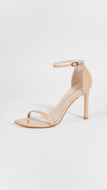Stuart Weitzman 95mm Amelina Square Toe Sandals