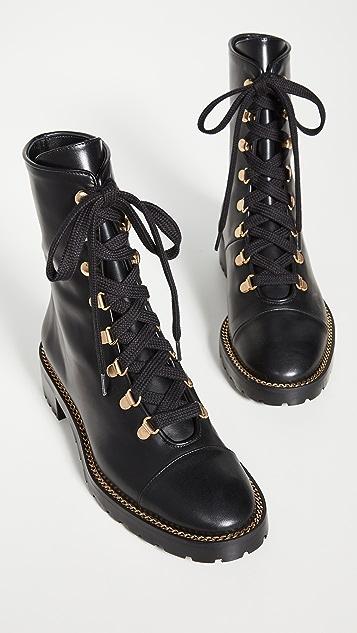 Stuart Weitzman Kolbie Lace Up Boots