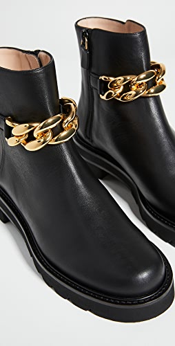 Stuart Weitzman - Chain Lift Booties