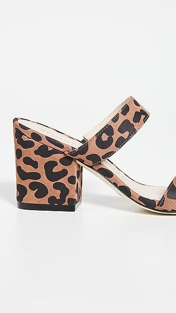 Stuart Weitzman 75mm Olive 穆勒鞋