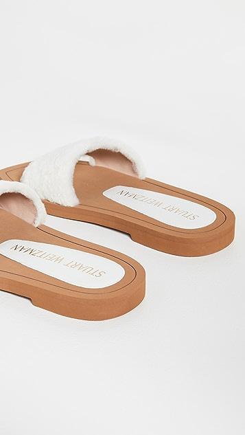 Stuart Weitzman Cammy Slide Sandals