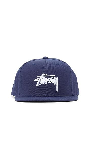 Stussy Stock Logo Cap