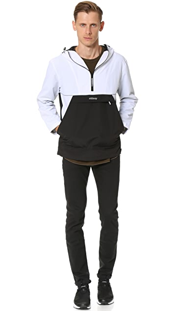 Stussy Reflective Sports Pullover Jacket