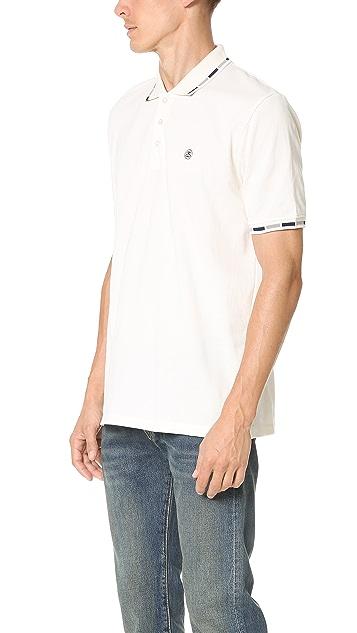 Stussy Block Collar Polo Shirt