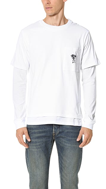 Stussy O Dyed Double Tee