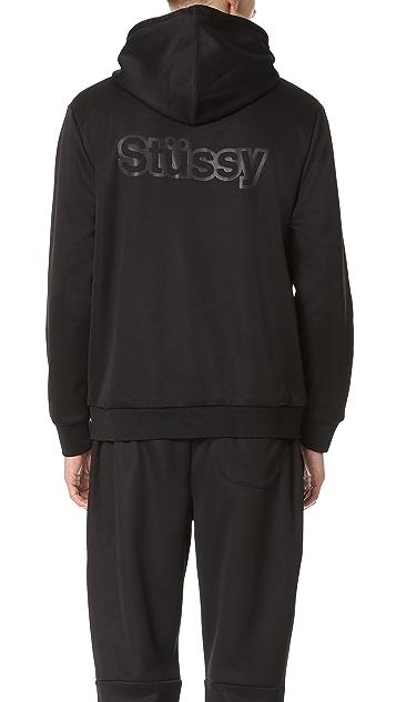 Stussy Bonded Fleece Hoodie