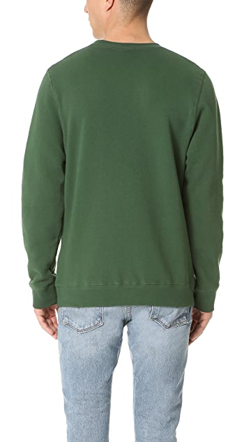 Stussy Shadow Applique Crew Sweatshirt
