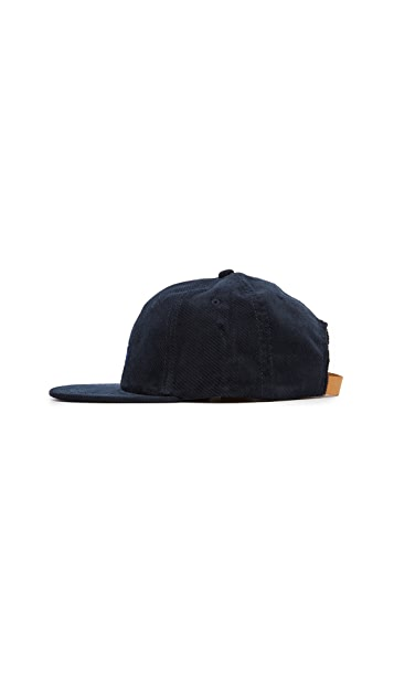 Stussy Stock Velveteen Strapback Cap