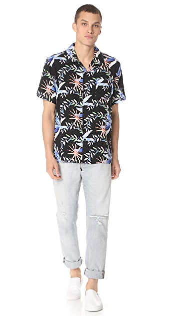 Stussy Floral Short Sleeve Shirt