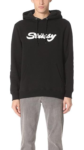 Stussy Brand Applique Hoodie