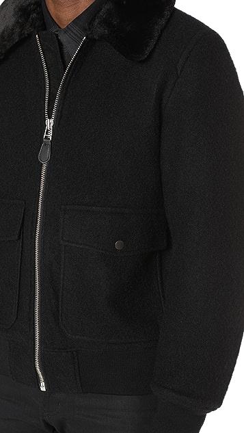 Stussy Wool B-10 Bomber Jacket