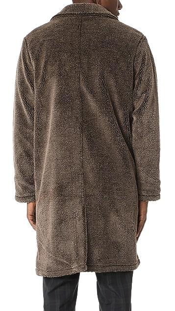 Stussy Sherpa Mac Coat