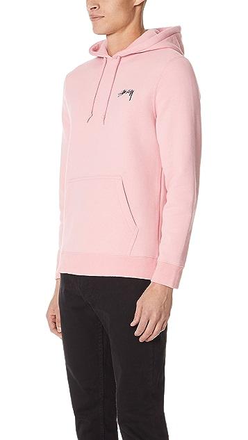 Stussy Basic Stussy Hooded Sweatshirt