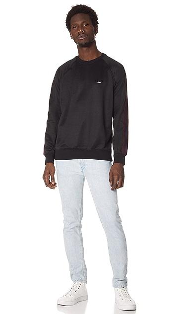 Stussy Poly Track Crew Neck Sweatshirt