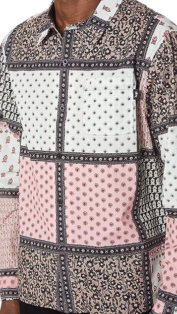 Stussy Paisley Patchwork Shirt