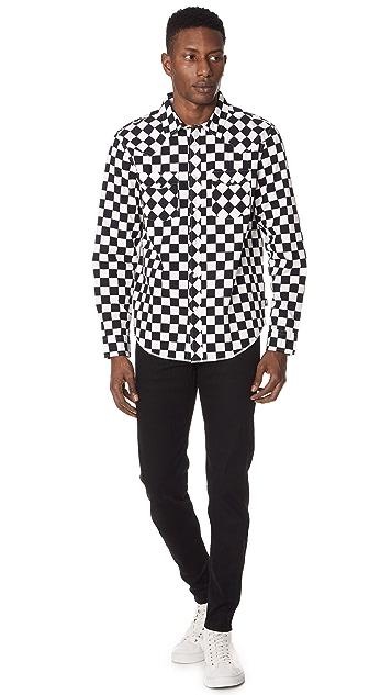 Stussy Checker Western Shirt