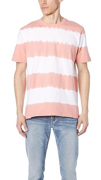 Stussy Ziggy Striped Short Sleeve Tee