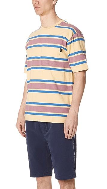 Stussy Bold Stripe Short Sleeve Tee