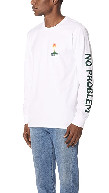 Stussy Jamaica NP Long Sleeve Tee