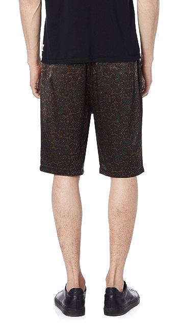 Stussy Reversible Paisley Shorts