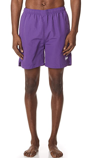 STUSSY Stock Water Shell Shorts