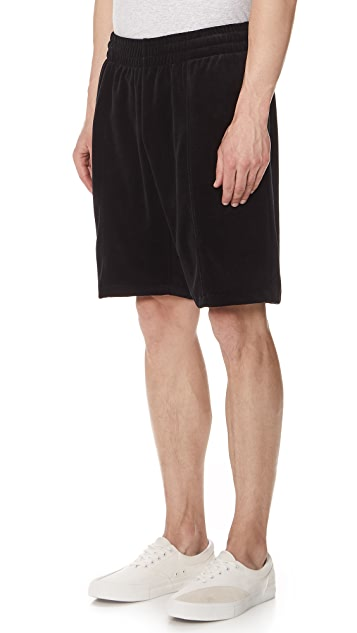 Stussy Velour Shorts