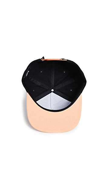 Stussy Stock Logo S18 Snapback Cap