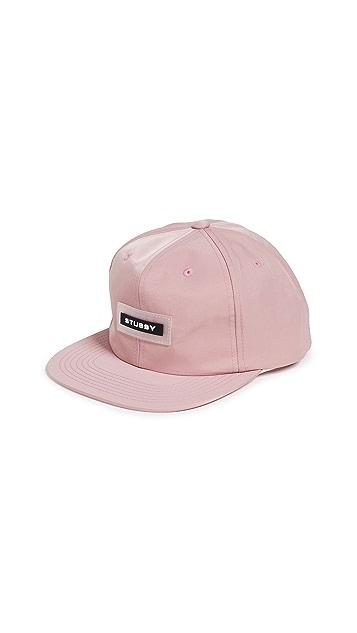 Stussy Nylon Twill Snapback Cap