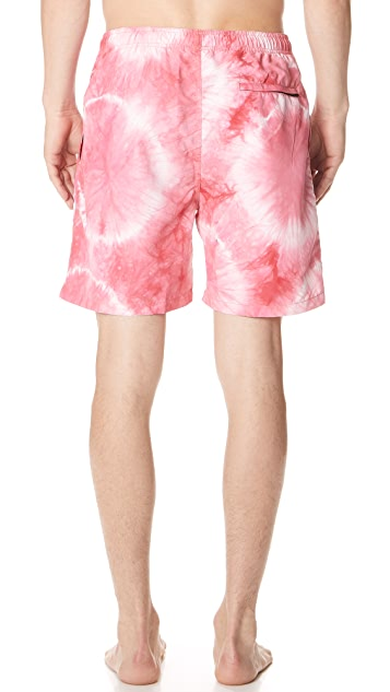Stussy Tie Dye Swim Trunks