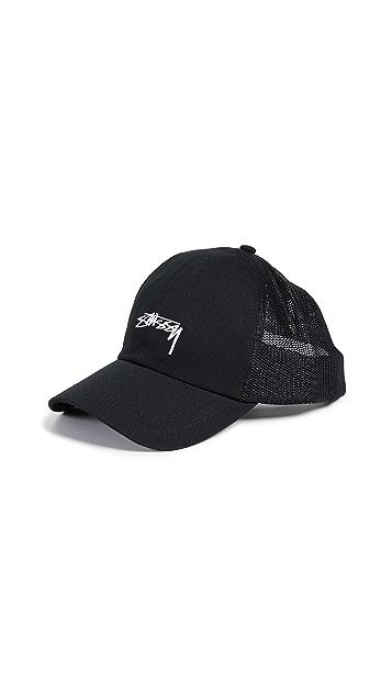 ... Stussy Stock Low Pro Trucker Hat ... 905b17495fc