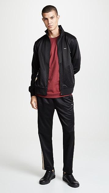 Stussy Textured Rib Track Jacket