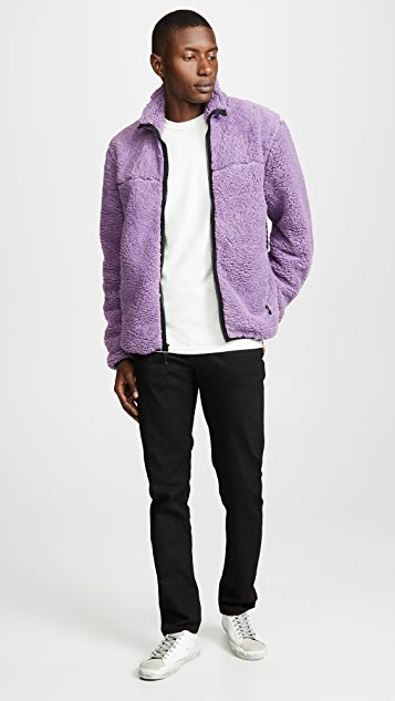 Stussy Sherpa Mock Neck Zip Jacket