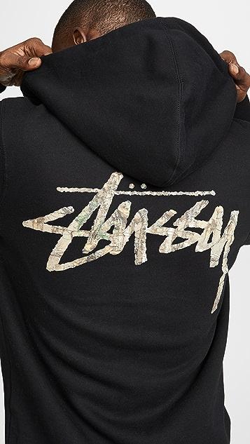 Stussy Camo Stock Zip Hoodie