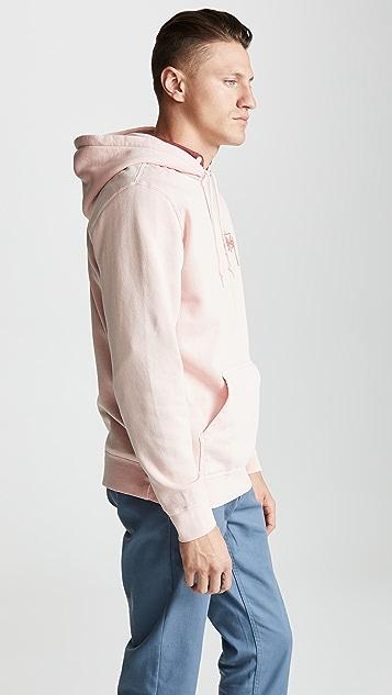 Stussy Stock Pig Dyed Hoodie