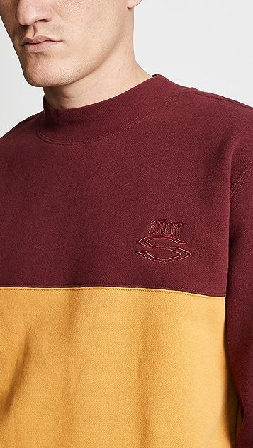 Stussy Large Crew Neck Sweatshirt