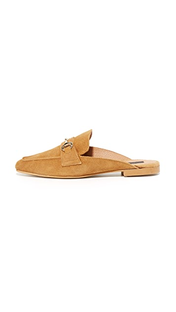 Steven Замшевые туфли без задника Razzi