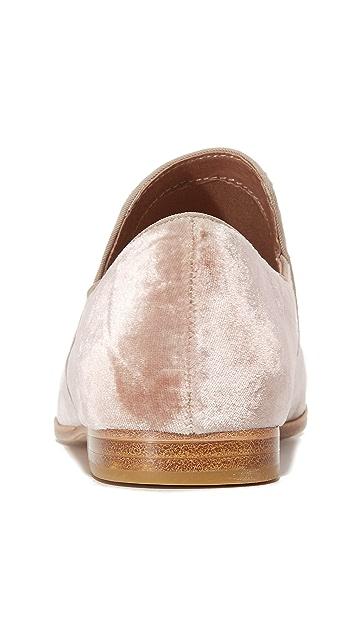 Steven Adrianna Velvet Loafers