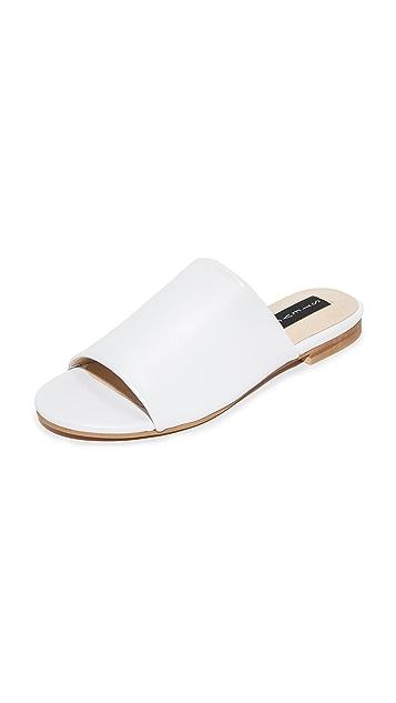 Steven Calahan Leather Slides