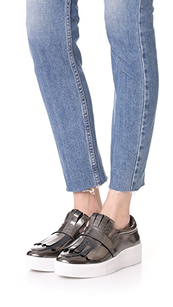 Steven Annalee Platform Slip On Sneakers