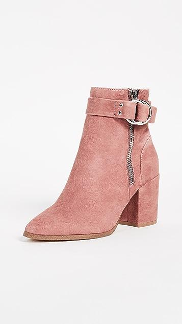 Steven Block Heel Ankle Boots ...