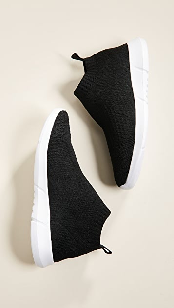 aada7836140 ... Steven Fabs Knit Jogger Sneakers ...