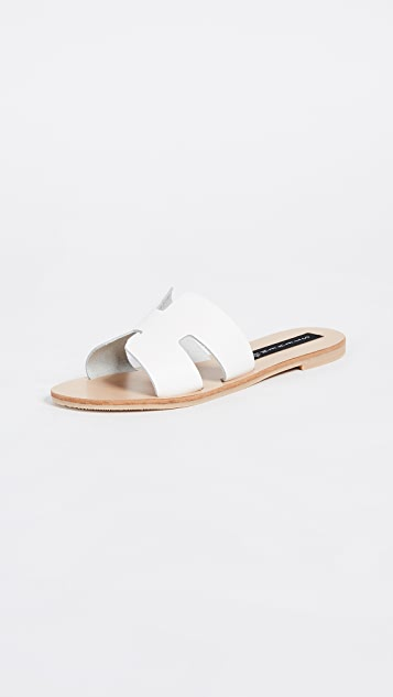 Steven Greece Slides - White