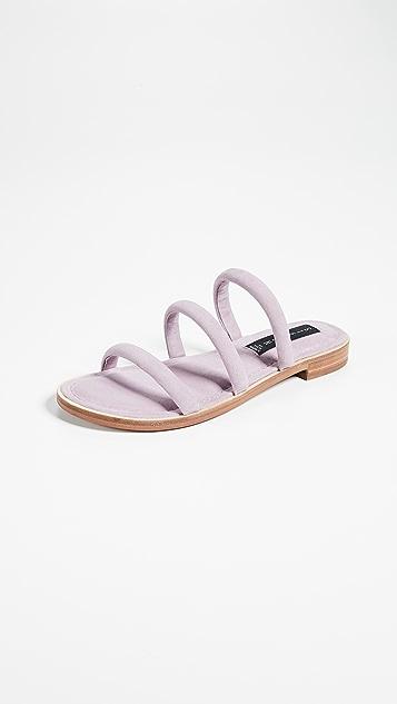 Steven Cocoa Tubular Sandals - Lilac