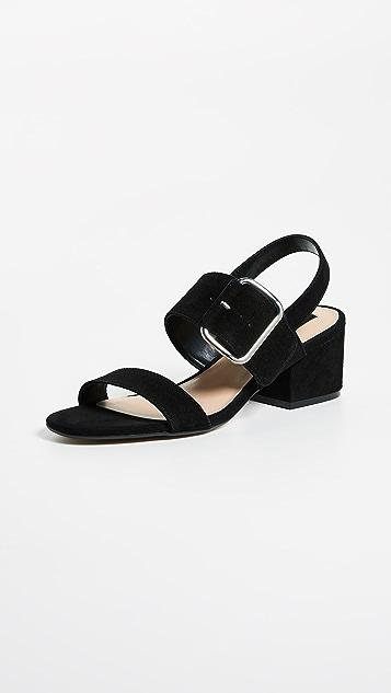 Steven Fond Block Heel Sandals ...