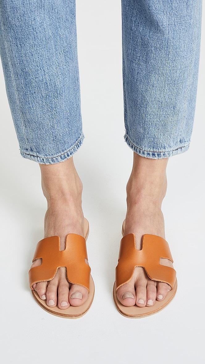steven by steve madden greece sandals white