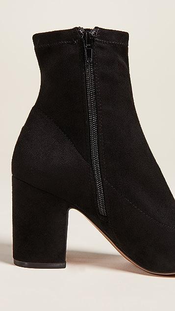9e9d25145fb4 ... Steven Leandra Block Heel Ankle Booties ...