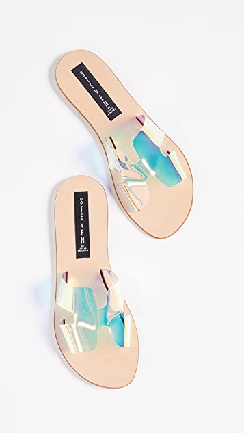 Iridescent Greece Slides | SHOPBOP