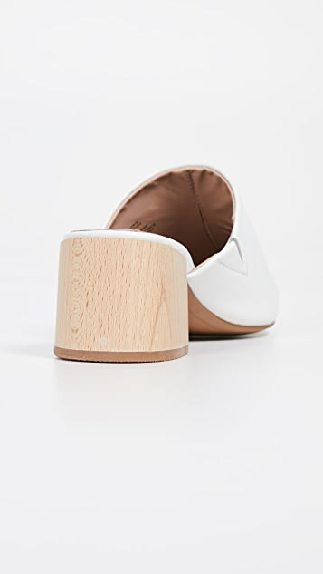Steven Florin 粗跟浅口鞋