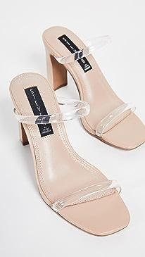 Jersey Double Strap Slides